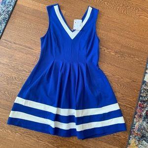 NWT: Royal Blue Pleated Dress